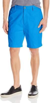 Nautica Men's Standard Classic Fit Flat Front Twill Deck Short