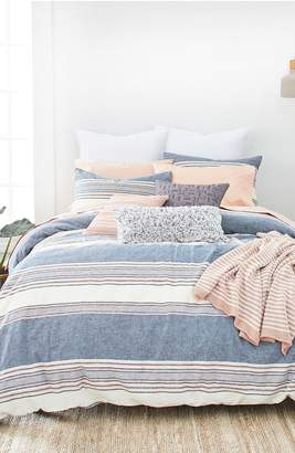 Splendid HOME DECOR Tuscan Stripe Duvet Cover & Sham Set