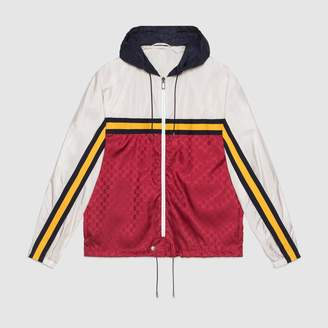 "Gucci Nylon jacket with ""Guccy"""