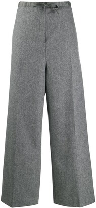 Jil Sander high-rise palazzo trousers