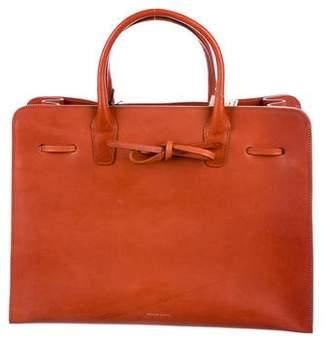 Mansur Gavriel Leather Sun Bag w/ Tags