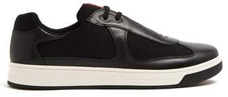 Prada Nevada Bike Low Top Trainers - Mens - Black
