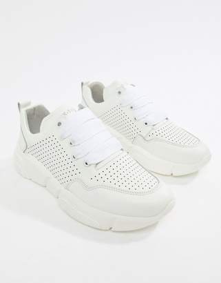 Bronx leather runner sneakers