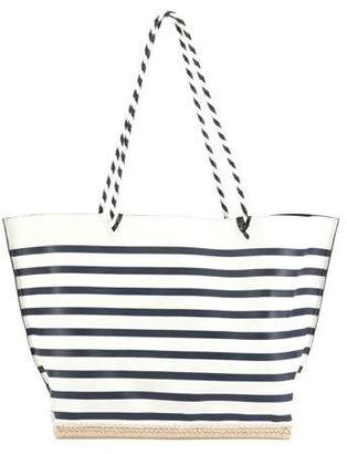 Altuzarra Espadrille Large Striped Tote Bag