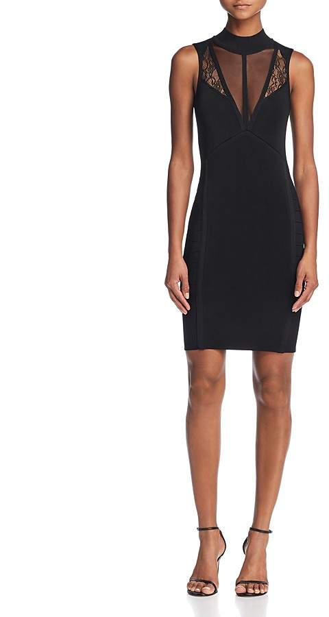 GUESS Julie Inset Body-Con Dress