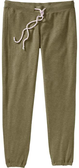 Old Navy Women's Terry Cinch-Leg Lounge Pants