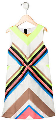 Milly Minis Girls' Striped Sleeveless Dress w/ Tags $65 thestylecure.com