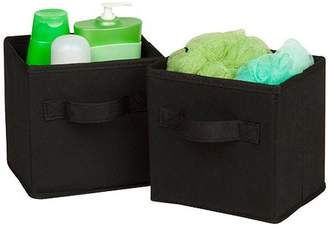 Honey-Can-Do Mini Non-Woven Foldable Storage Cube, Multicolor (Pack of 6)
