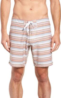 rhythm Tuscan Stripe Swim Trunks