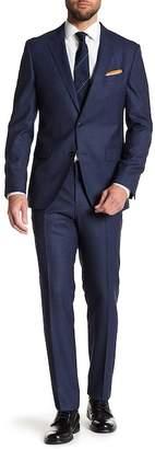 BOSS Novan Notch Collar Flat Front Pants 2-Piece Suit