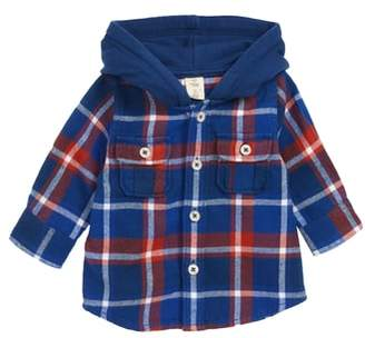 Tucker + Tate Plaid Hooded Flannel Shirt
