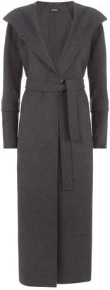 Max Mara Belted Wrap Wool Coat