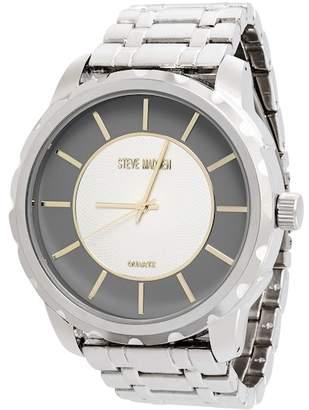 Steve Madden Men's Alloy Bracelet Watch, 51mm