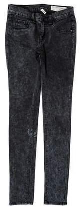 Rag & Bone Legging Low-Rise Jeans