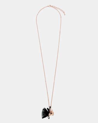 Ted Baker COTANIA Bulldog ballerina pendant necklace