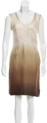 Prada Sleeveless Silk Dress
