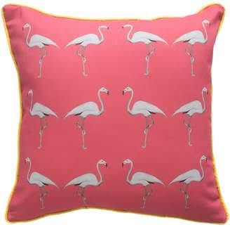 Dwelling Bird - Flamingo Cushion Miami Pink