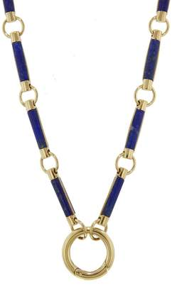 Foundrae Air Open Chain Element Necklace - Yellow Gold