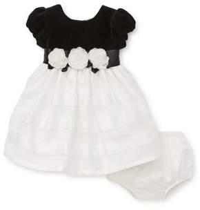 Little Me Baby Girl's Formal Ruffled Dress