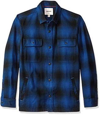 Goodthreads Men's Heavyweight Flannel Shirt Jacket