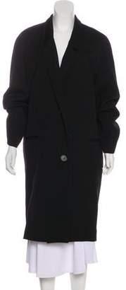 Lemaire Notch-Lapel Long Coat