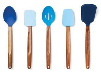 Fox Run Brands 5-Piece Gradient Silicone Cooking Utensils Set