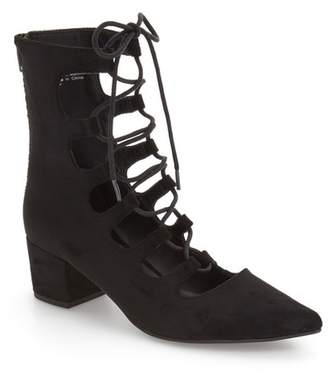 Matisse Sonia Lace-Up Suede Pump
