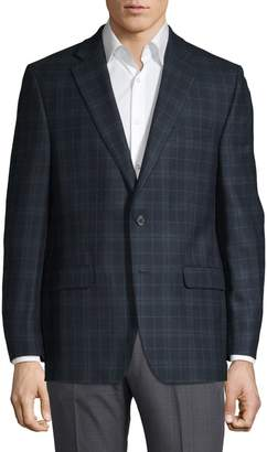 Lauren Ralph Lauren Ultra Flex Check Wool-Blend Suit Jacket