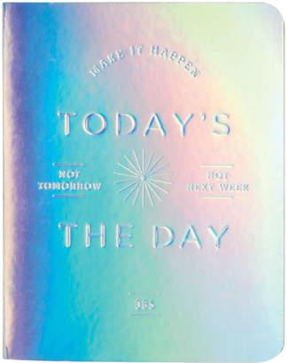 Chronicle Books クロニクルブックス(ChronicleBooks) 日付なしプランナー TODAYIIVS THE DAY シルバー