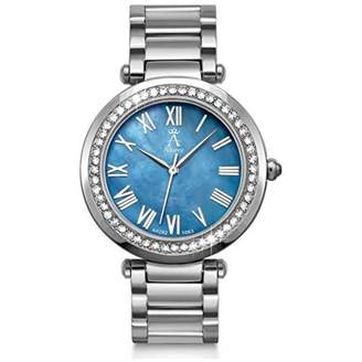 Mother of Pearl Allurez Women's Dial Stainless Steel Watch