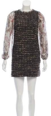 Dolce & Gabbana Woven Mini Dress