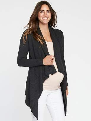 Old Navy Maternity Cascading Open-Front Sweater