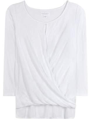 Velvet Carthy draped top