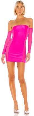 superdown Halsey Mesh Mini Dress