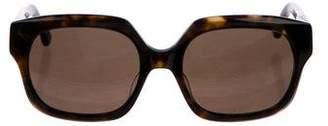Elizabeth and James Tortoise Square Sunglasses
