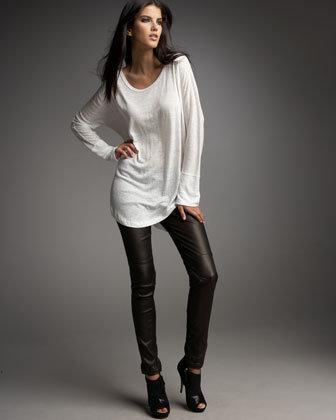 Joie Tarina Leather Leggings