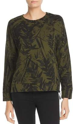 Andrew Marc Bamboo-Print Sweatshirt