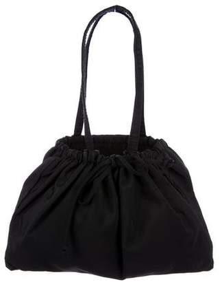 Miu Miu Nylon Drawstring Bag