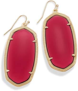 Kendra Scott Danielle Statement Earrings in Berry Glass