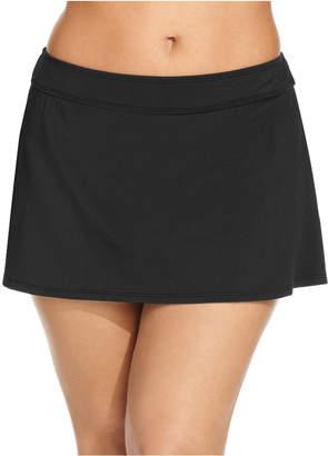 Anne Cole Plus Size Swim Skirt Bottoms