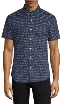 Bonobos Short-Sleeve Cotton Slim-Fit Button-Down Shirt
