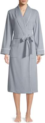 Elysian Long Waffle Knit Robe