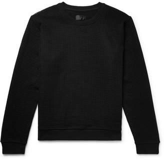 RtA Mesh And Loopback Cotton-Jersey Sweatshirt