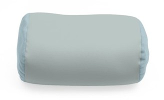 """Deluxe Comfort Mooshi Squish Microbead Bed Pillow (14"""" x 7"""") Airy Squishy Soft Microbeads Eighteen Fun Bubbly Colors to Choose From Cuddly and Fun Dormroom Accessory Bed Pillow, Cadet Grey"""