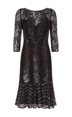 Temperley London Panther Fitted Dress