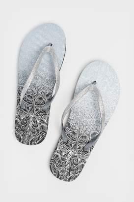 40e8afbe7040 Glitter Flip Flops - ShopStyle