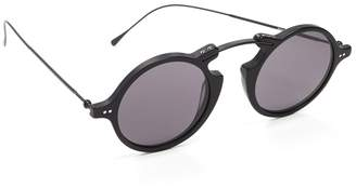 Illesteva Roma II Flat Lens Sunglasses
