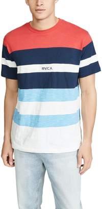 RVCA Courtside Striped Short Sleeve Tee