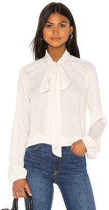 Theory Scarf Top Classic Blouse