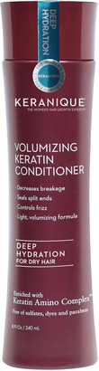 Keranique Deep Hydration Volumizing Keratin Conditioner-For Normal to Dry Hair